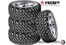 4 Rbp Repulsor Mt Ii 33x1250r20lt 119q 12ply Jeep Truck Suv Off Road Mud Tires