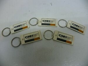Lot of (5) NOS Case New Holland CNH Key Ring