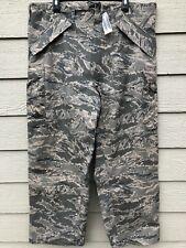 NWT GENUINE USAF APECS ABU GORE TEX TIGER STRIPE ALL PURPOSE PANTS - LARGE REG
