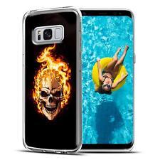 Handy Tasche Samsung Galaxy S8 Plus Schutz Hülle Silikon Cover Backcover Case