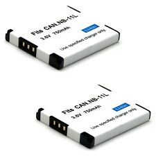 2x Battery For Canon Powershot ELPH 110 HS 320 HS 340 HS 115 IS 120 IS 130 IS