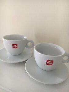 Illy Cappuccino Cups (2)