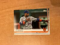 2019 Topps Update - Robinson Cano - #US107 Image Variation SP METS