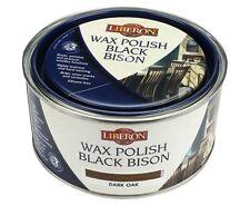 Liberon Black Bison Wax Polish Paste - All Sizes All Colours