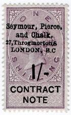 (I.B) QV Revenue : Contract Note 1/- (Seymour Pierce & Chalk pre-cancel)