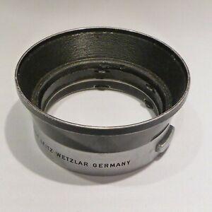 Leica Leitz lens-hood  IROOA for 50mm & 35mm lenses; last type.