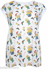 Hip Length Polyester Christmas T-Shirts for Women