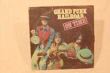 Grand Funk Railroad- On Time LP Vinyl Record VG