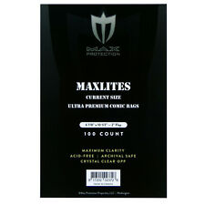 More details for maxlites ultra premium archival quality comic bags -- current and silver sizes
