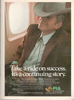 1979 Original Advertising' Advertising Pia Pakistan International Airlines Story