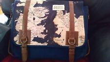 Game of Thrones Messenger Bag Faux Leather Bag Shoulder Strap  Westeros Map