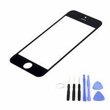 Cristal Delantero para Iphone 5 5c 5s Negro Cristal Pantalla Táctil Retina
