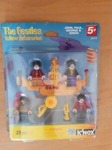 K'NEX THE BEATLES Yellow Submarine figures NEW 21 Pieces