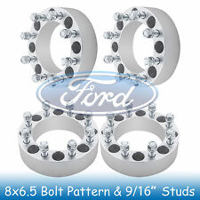 "2"" Ford 8 Lug Wheel Spacers 8x6.5 8x165.1 with 9/16"" Studs fits for Dodge Ram"