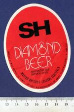 Danish Beer Label - Maribo Brewery - Denmark - SH Diamond Beer