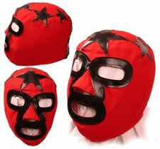 Kids Masked Superstar Pro Wrestling Red/Black Mask, WWE