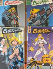 Comico First Comics Lodestone Publishing Evangeline comic book lot VF to NM