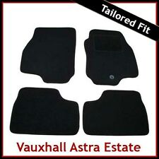 VAUXHALL ASTRA G Estate 1998-2004 Tailored Carpet Car Mats BLACK