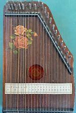 Antico Strumento Musicale Cetra In LegnoZitar Guitarre Zither