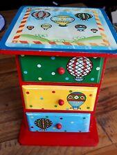 Vintage Wooden Toy Jewellery Box