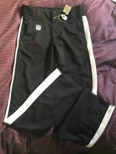 NFL Referee pants SIZE 36 sport athletic stretch fit  black Unfinished