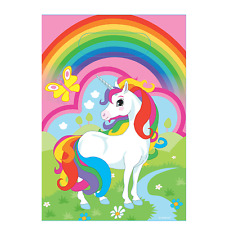 Rainbow Unicorn Pony Horse Party Birthday Lootbags 8 Pack Loot Bags 9902106