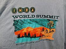 New IMBA Cycling MTB long sleeved t-shirt Men's S 2016 world summit Mt. Biking!