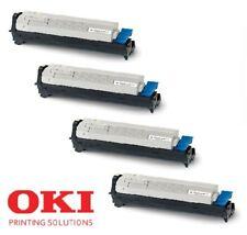 4 x Original Toner + Trommel DRUM OKI C9600 C9650 C9800 / 42918916 -42918913 Set