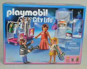 Playmobil® 6149 City Life - Modeschau mit Fotoshooting NEU / OVP