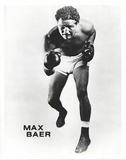 MAX BAER 8X10 PHOTO BOXING PICTURE