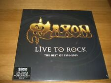 Saxon-en Vivo para Rock. Lp Vinilo Exclusivo
