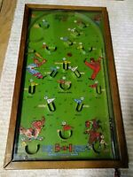 "Northwestern Products Arcade Tabletop Pinball PAT 1925018 POOSH-M-UP ""BIG 5"""