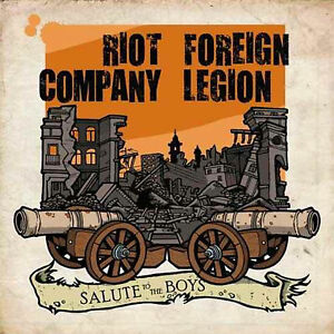 "RIOT COMPANY / FOREIGN LEGION - SALUTE TO THE BOYS (7"" EP) NEU Skinhead Punk Oi"
