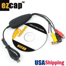 USB Audio Video Capture Window 32&64 Bit Easycap Record Camera VHS WIN7/8 Win10
