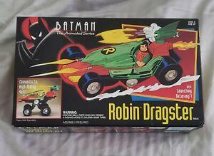 Vintage Kenner Batman The Animated Series Robin Dragster NEW Sealed Rare