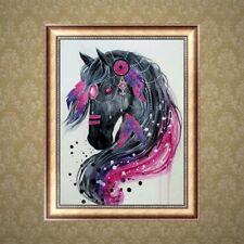 DIY 5D Diamond Embroidery Horse Painting Rhinestone Cross Stitch Home Decor