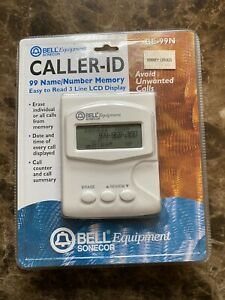 VINTAGE NEW BELL EQUIPMENT SONECOR CALLER ID  BE-99N See Photos