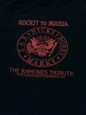 Rock It To Russia Ramones Tribute Band Concert T Shirt Sz Large