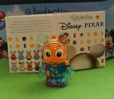 "Disney Vinylmation 3"" Park Set 1 Pixar Finding Nemo w/ Box"
