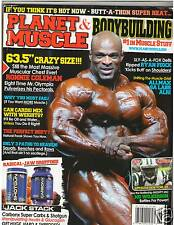 PLANET MUSCLE bodybuilding fitness magazine Sarah Varno /Ronnie Coleman 9-12