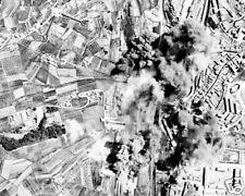OPERATION STRANGLE 8X10 PHOTO BOMBING OF ITALY WWII