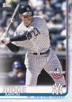 2019 TOPPS BASEBALL OPENING DAY CARD # 15 - AARON JUDGE- NEW YORK YANKEES