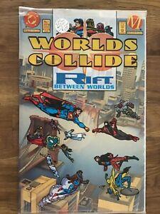 D.C. Comics Worlds Collide Rift Between Worlds #1 July 1994 Sealed