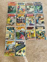 Adventure And Action Comics Lot