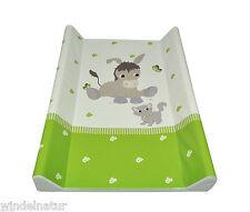 Wickelauflage 2-Keil Donkey apfelgrün 70x50 cm Wickeltisch Ökotex Auflage Esel