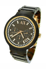 NEW ARMANI EXCHANGE CHRONOGRAPH 50M CRYSTAL LADIES WATCH AX5142