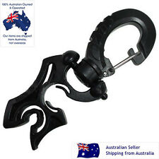 Scuba Diving 2 Sizes Hose Holder with Clip, FIts 1.3cm and 0.6cm Ho