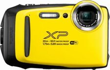 Fujifilm FinePix XP130 16.4-MP Digital Camera Water Resistant - Yellow - NEW™
