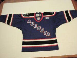 Vintage Augusta Lynx Reebok ECHL Hockey Jersey Size Boys Small - Medium stitched