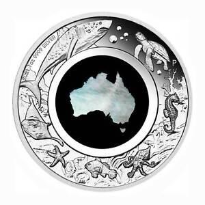 Australien $ 1 Silber Great Southern Land Perlmutt 2021 ab Lager lieferbar